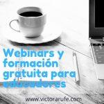 Webinars y formación gratuita para educadores