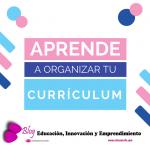 Cómo organizar el currículum de un docente o investigador