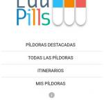 EduPills, píldoras formativas gratuitas y rápidas para docentes inquietos