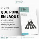 Borregos que ladran, un libro imprescindible para docentes